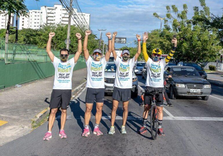"""Projeto """"1.000 KM pela vida"""" ganha edição temática em defesa da Sabiaguaba e com participação de paratletas"""