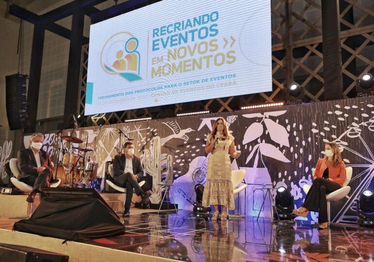 Em ação colaborativa, Visite Ceará treina protocolos sanitários para retomada dos eventos