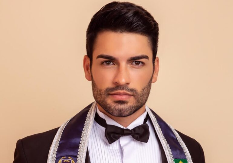 Primeiro deficiente físico amputado, cearense, concorre ao Mister Brasil.