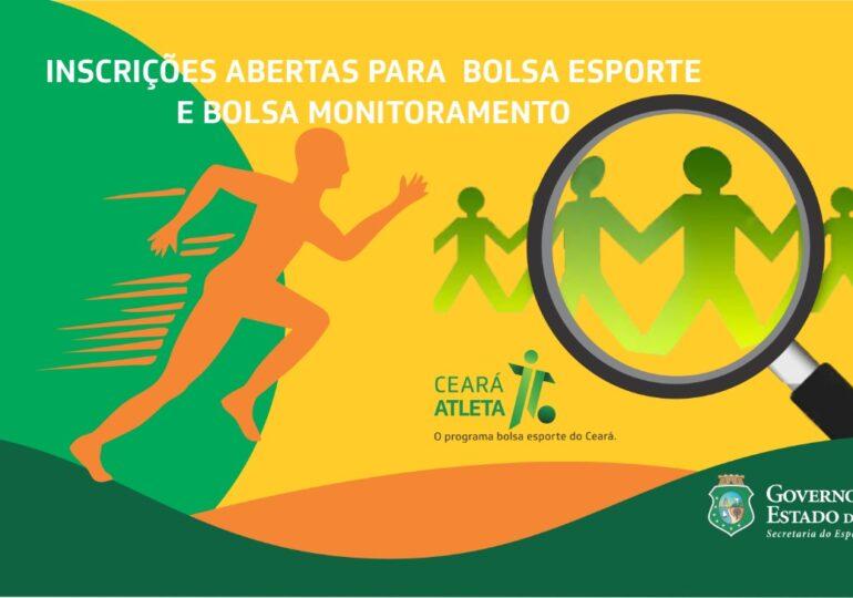 Sejuv prorroga inscrições para 4.020 bolsas do Programa Ceará Atleta – Bolsa Esporte