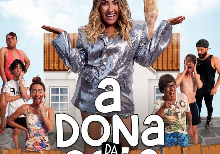 """Com Ciro Santos no elenco, série de comédia """"A Dona da Casa"""" é lançado na plataforma Viuzz"""