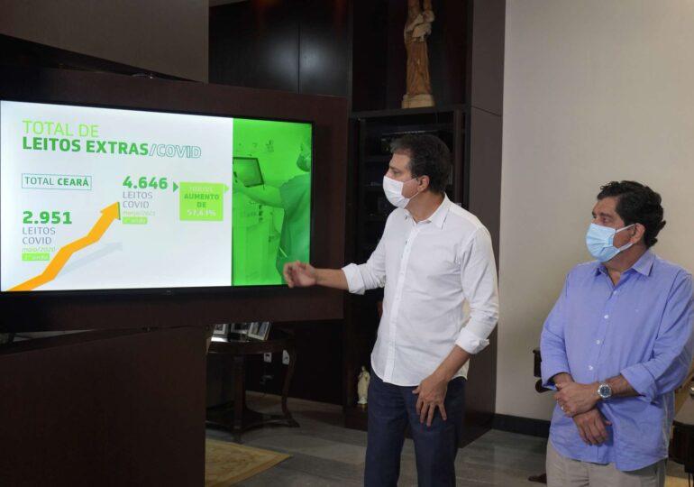 Isolamento Social Rígido ajuda a estabilizar indicadores e será mantido no Ceará até 4 de abril