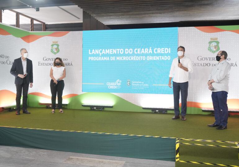 Programa Ceará Credi vai destinar R$ 100 milhões para beneficiar microempreendedores e trabalhadores cearenses